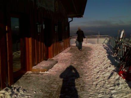 Seiteneingang - Siggi's Hütte