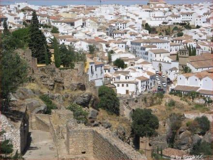Sicht auf Ronda - Altstadt Ronda