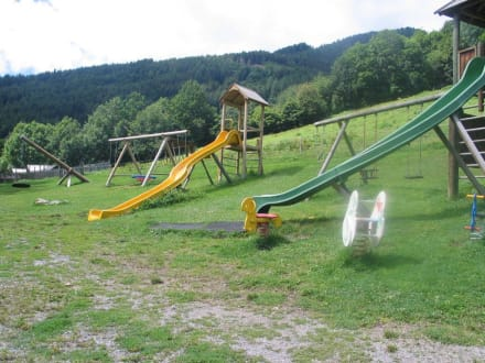 Spielplatz an der Märchwandermeile - Märchenwandermeile Trebesind