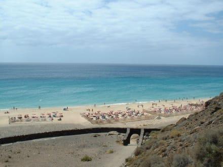 Strand von Esquinzo - Strand Playa de Esquinzo / Playa de Butihondo