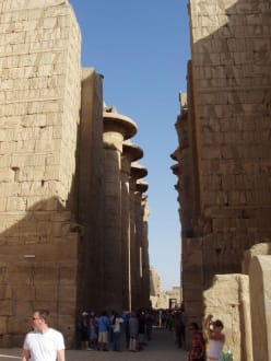 Säulensaal - Amonstempel Karnak