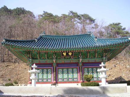 Tempel - Seoraksan Nationalpark