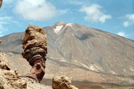 Parque Nacional de Teide - Roque de Garcia mit Teide - Roques de Garcia