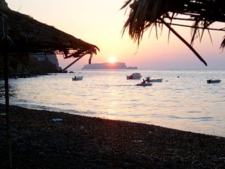 Sonnenuntergang - Caldera