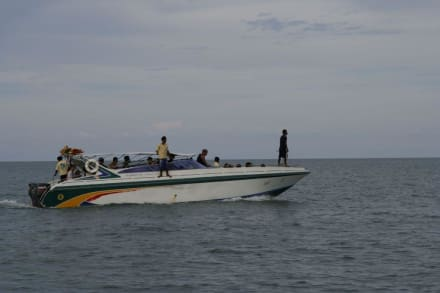 Unser Speedboot zum Schnorcheln bei Koh Tao - Schnorcheln Koh Tao & Ko Nang Yuan