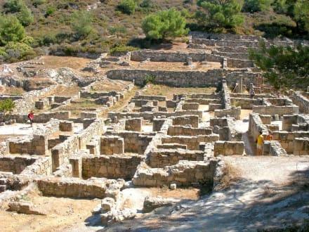 Ausgrabungsstätte von Kamiros - Ausgrabung Kamiros Skala