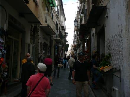 Straße in Pizzo - Altstadt Pizzo Calabro