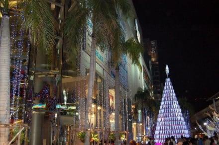 Weihnachtlich geschmückt - Siam Paragon