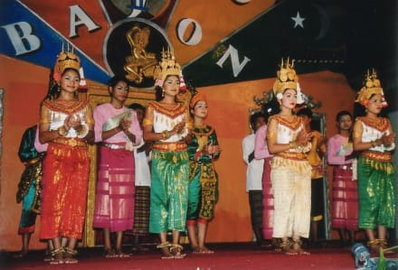 Siem Reap - Aspara Dance - Tanzvorführung