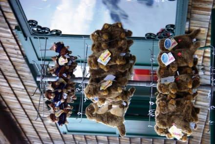 Murmeltiere die hängen..  - Restaurant Edelweißhütte