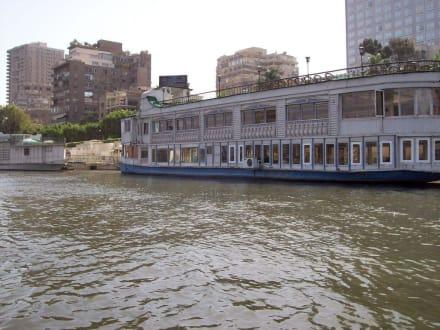 Sehr viel vertreten auf dem Nil - Bootstour auf dem Nil