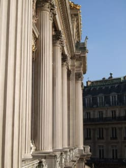 Säulenfront - Oper Garnier