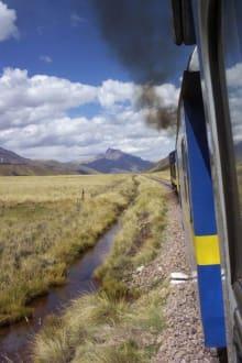 Zugfahrt - Tren Titicaca