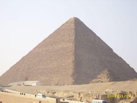 Kairo,Pyramiden - Pyramiden von Gizeh