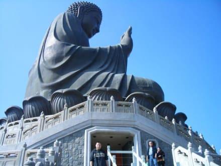 Lantau - Tian Tan Buddha -  Größter sitzender Buddha
