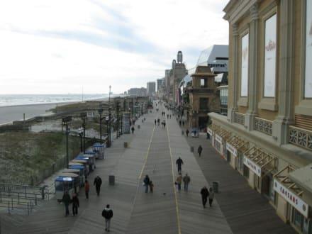 Der Boardwalk in Atlantic City - Boardwalk
