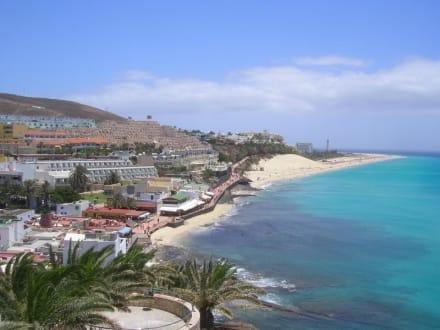 Blick nach Jandia - Strand Jandia
