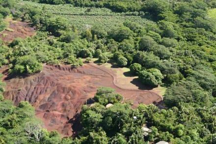 Terres des Couleurs bei Chamarel - Siebenfarbige Erde / Terres des Sept Couleurs / Seven Coloured Earths