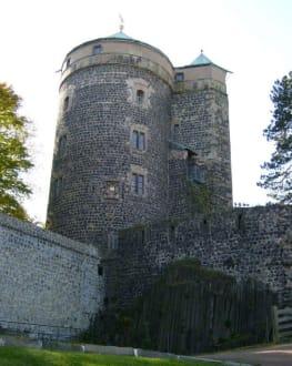 Burgruine Stolpen - Burgruine Stolpen