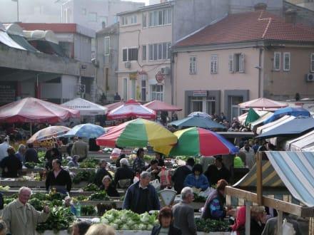 Markt in Sibenik - Markt in Sibenik