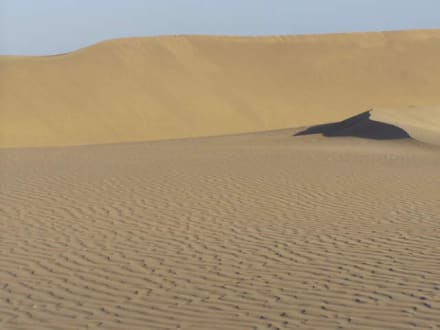 Maspalomas der Sand, Spanien - Dünen von Maspalomas