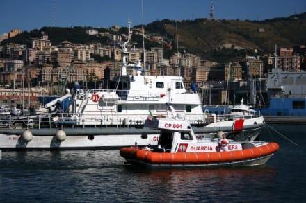 Genuas Hafen - Hafen Genua