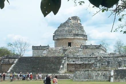 El Caracol - Ruine Chichén Itzá