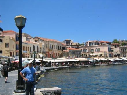Hafen von Agios Nicolaos - Strandpromenade Agios Nikolaos