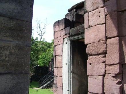 Tempelwand - Phimai