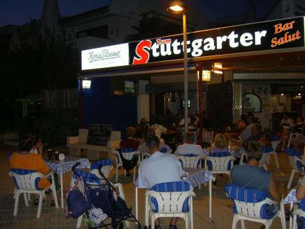 EM - 2004 Stuttgarter - Teneriffa - Restaurant Sommergarten (geschlossen)