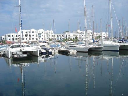Blick auf Hafen und Boote - Yachthafen Port el Kantaoui