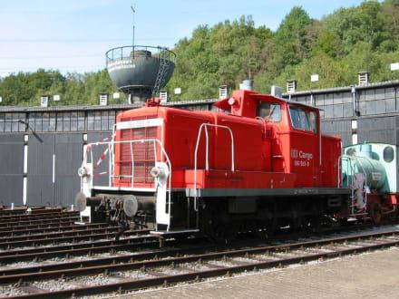 Diesellok - Eisenbahnmuseum Bochum