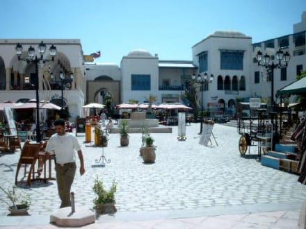 Zentrum der Medina - Medina Hammamet-Yasmine