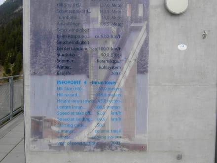 Informationstafel - Erdinger Arena
