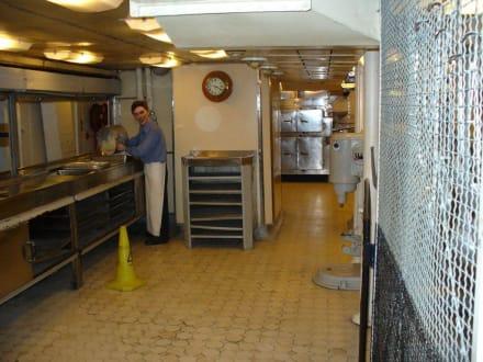 Küche - Kriegsschiff HMS Belfast