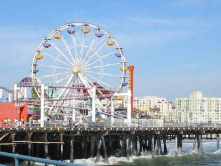 Pier in Santa Monica - Santa Monica Pier