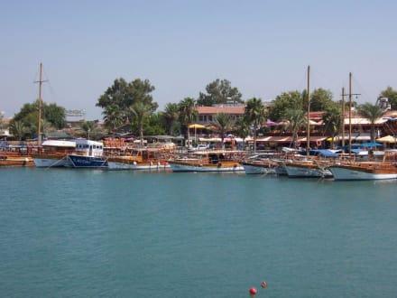 Der Hafen von Side - Hafen Side