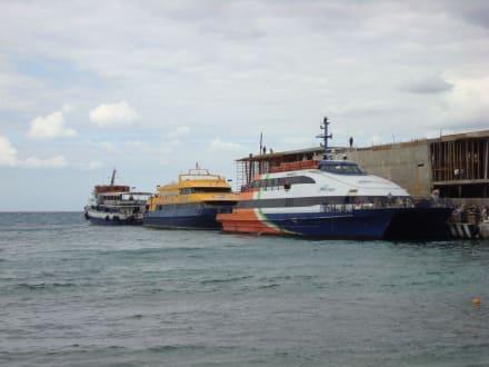Anlegestelle der Fähre auf Cozumel - Isla Cozumel