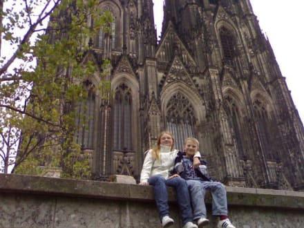 Vor dem Dom - Kölner Dom