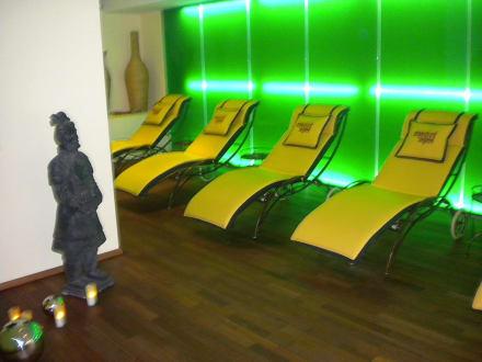 Ruheraum Saunabereich - Hotel Sportalm