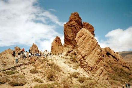 Parque Nacional de Teide - Los  Roques de Garcia - Roques de Garcia