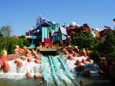 Wildwasserbahn - Universal's Islands of Adventure