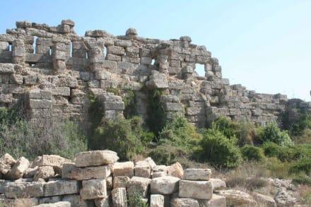 Side - Stadtmauer in Side