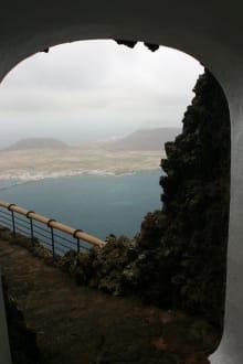 Blick auf die Aussichtsplattform - Mirador del Río