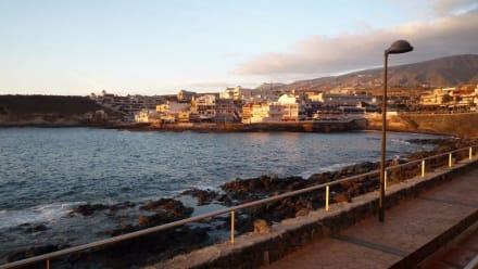Alter Hafen von La Caleta - Strand La Caleta