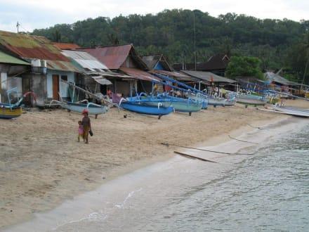 Hafenstrand - Hafen Padang Bai
