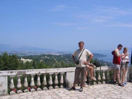 Aussicht - Schloss Achilleion