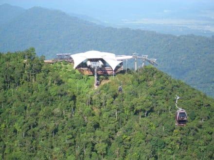 Untere Bergstation der Cable Car - Langkawi Seilbahn