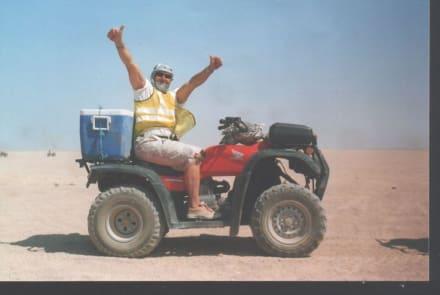 Mit Quad. - Quad Tour Hurghada