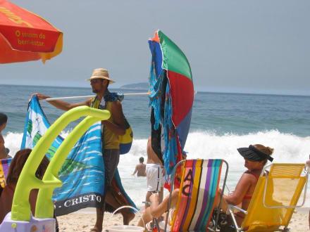 Am Strand von Ipanema - Ipanema Beach